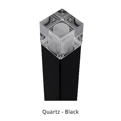 Cube bollard quartz