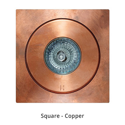 Hunza Flush Floor Light Square