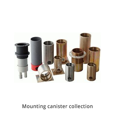 Hunza Mounting Canisters