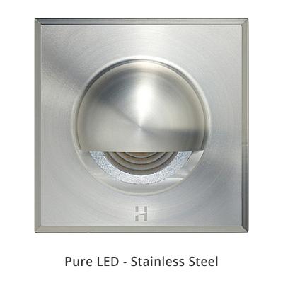 Hunza Step Light Solid Eyelid Sqaure