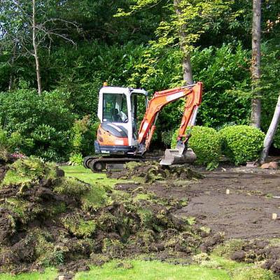 MDB landscapes - Digger ground works